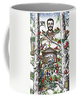 St. Francis And The Birds Coffee Mug