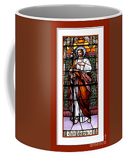Saint Joseph  Stained Glass Window Coffee Mug