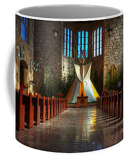Saint Josephs Apache Mission Coffee Mug by Bob Christopher