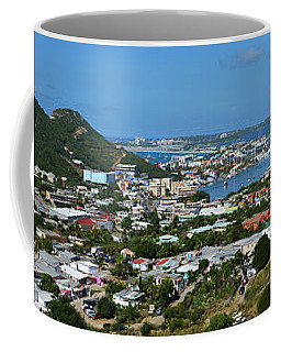 Saint Martin Panorama Coffee Mug