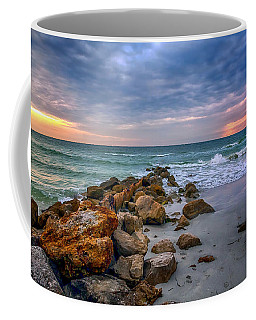 Saint Pete Beach Stormy Sunset Coffee Mug