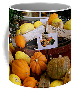Coffee Mug featuring the photograph San Joaquin Valley Squash Display by Michele Myers