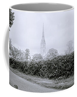 Salisbury Cathedral Coffee Mug by Shaun Higson