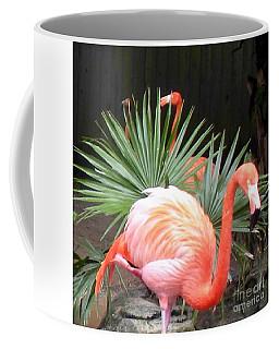 Salmon Flamingos Coffee Mug