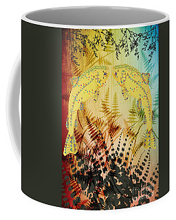 Salmon Love Gold Coffee Mug by Kim Prowse