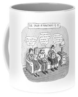 Salon Of Apartment 4-n Coffee Mug