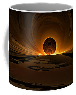 Salsa Sunrise Coffee Mug by GJ Blackman