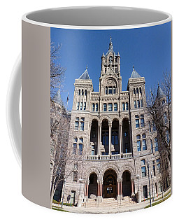 Coffee Mug featuring the photograph Salt Lake City - City Hall - 2 by Ely Arsha