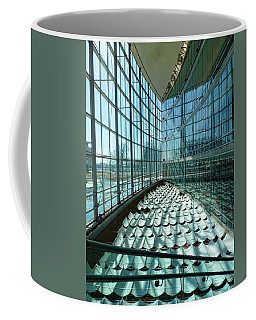 Coffee Mug featuring the photograph Salt Lake City Library by Ely Arsha