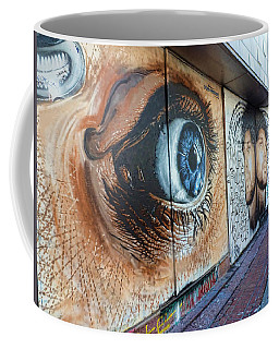 Coffee Mug featuring the photograph Salt Lake City - Mural 1 by Ely Arsha