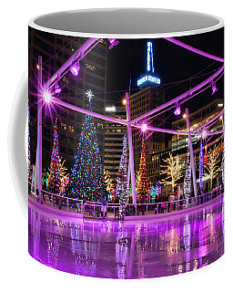 Coffee Mug featuring the photograph Salt Lake City - Skating Rink - 2 by Ely Arsha