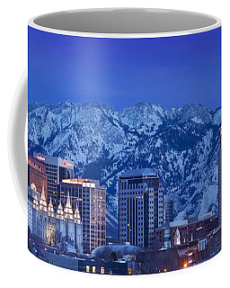 Coffee Mug featuring the photograph Salt Lake City Skyline by Brian Jannsen