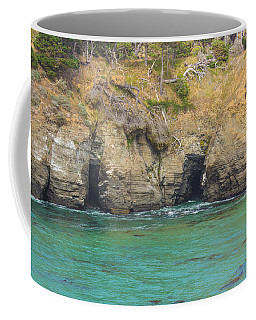 Salt Point Sea Caves Coffee Mug by Suzanne Luft