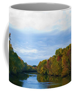 Saluda River In The Fall Coffee Mug