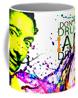 Salvador Dali Pop Art Coffee Mug by Eti Reid