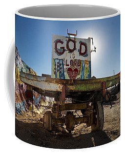 Salvation Mountain Flatbed Coffee Mug