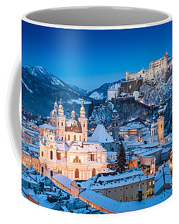Salzburg Winter Romance Coffee Mug
