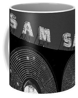Sam The Record Man At Night Coffee Mug