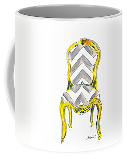 Samantha Chevron Chair Coffee Mug