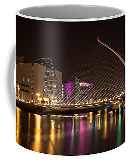 Samuel Beckett Bridge In Dublin City Coffee Mug by Semmick Photo