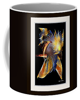 Coffee Mug featuring the painting Samurai by Rafael Salazar