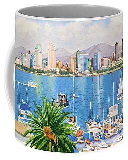 San Diego Fantasy Coffee Mug by Mary Helmreich