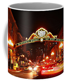 Coffee Mug featuring the photograph San Diego - Gaslamp Quarter by Glenn McCarthy