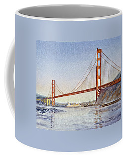 San Francisco California Golden Gate Bridge Coffee Mug