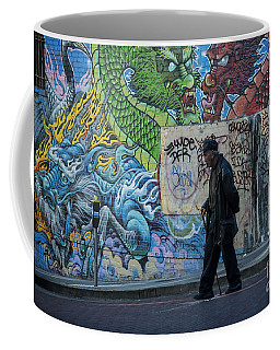 San Francisco Chinatown Street Art Coffee Mug