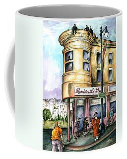 San Francisco North Beach - Watercolor Art Painting Coffee Mug