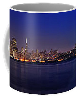 San Francisco Dusk Panorama Coffee Mug
