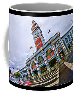 San Francisco Ferry Building Giants Decorations. Coffee Mug