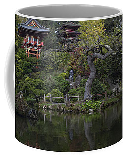 San Francisco Japanese Garden Coffee Mug by Mike Reid