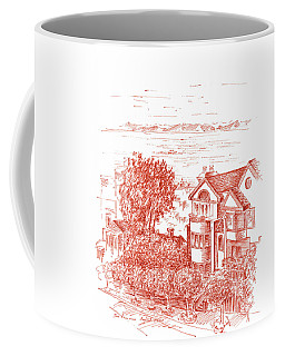 San Francisco Leavenworth Street Bay View Coffee Mug