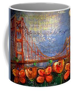 San Francisco Poppies For Lls Coffee Mug