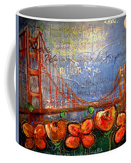 San Francisco Poppies For Lls Coffee Mug