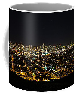 Coffee Mug featuring the photograph San Francisco Skyline by Dave Files