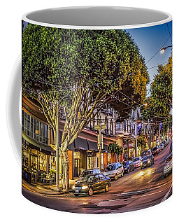 Coffee Mug featuring the photograph Hdr Effect - San Francisco Street by Susan Leonard