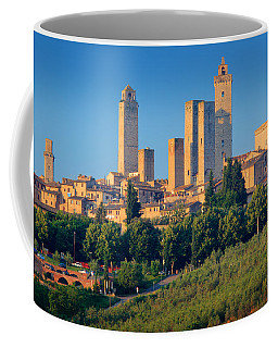 San Gimignano Skyline Coffee Mug