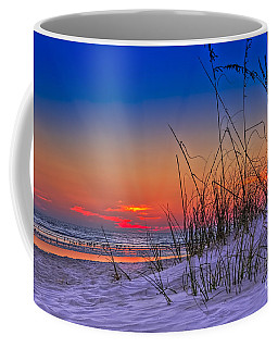 Sand And Sea Coffee Mug by Marvin Spates