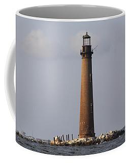 Sand Island Lighthouse - Once 40 Acres Coffee Mug