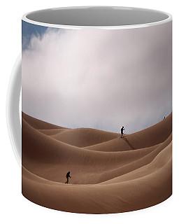 Sand Skiing Coffee Mug