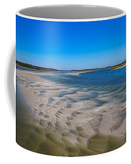 Sandbars On The Fort George River Coffee Mug by John M Bailey