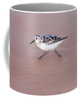 Sanderling On The Run Coffee Mug