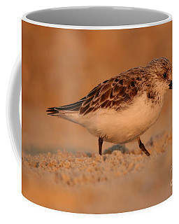 Coffee Mug featuring the photograph Sanderling Sunrise by John F Tsumas