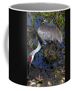 Sandhill Crane 035 Coffee Mug