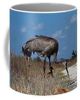 Sandhill Crane 037  Coffee Mug