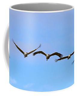 Sandhill Crane Flight Pattern Coffee Mug