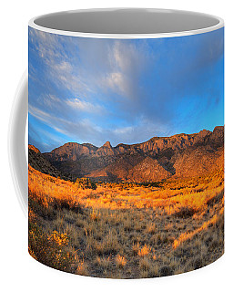 Sandia Crest Sunset Coffee Mug