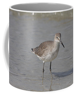 Coffee Mug featuring the photograph Sandpiper by Christiane Schulze Art And Photography
